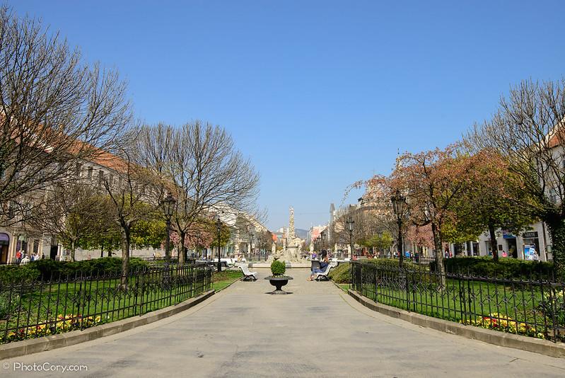 park kosice main street