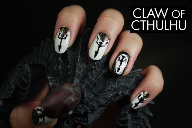 Diablo 3: Reaper of Souls -  Crusader Inspired Nail Art