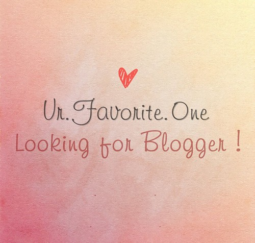 U.F.O Looking for Blogger Close Now♥
