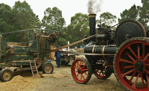 Marshall 8HP Compound Traction Engine (c.1912) (2)