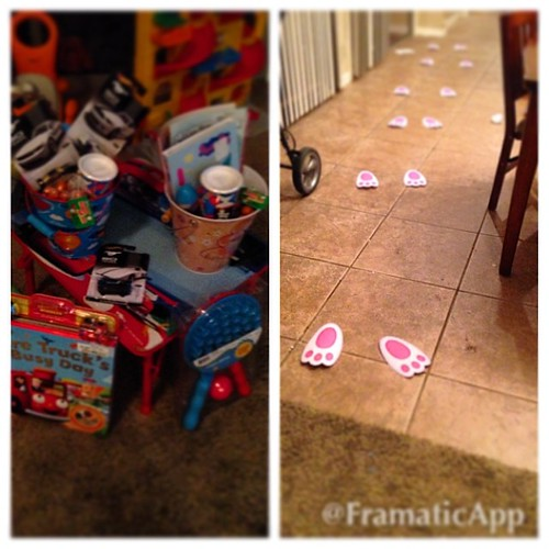 Oh my goodness!! A #bunny broke into our house and drop of more crap. Bring on #eastering