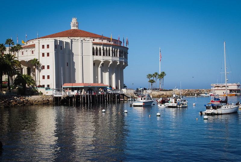The Casino on Catalina Island