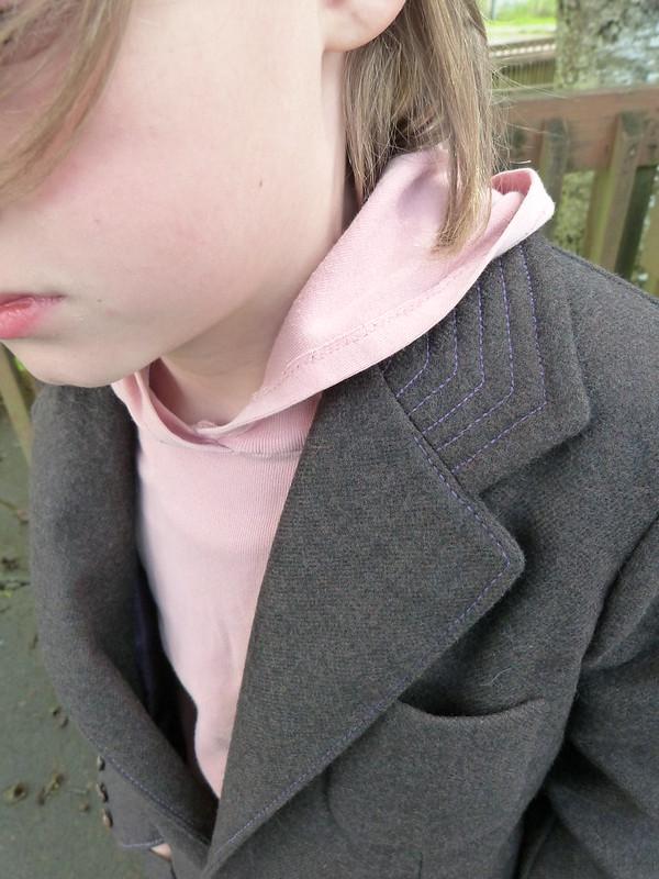 Brown Wool Blazer