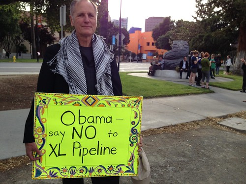 KXL protest, San Jose IMG_2478