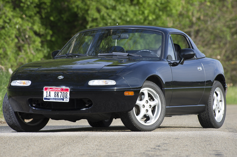 sell used 1996 mazda miata low miles hardtop no reserve in boise idaho united states. Black Bedroom Furniture Sets. Home Design Ideas
