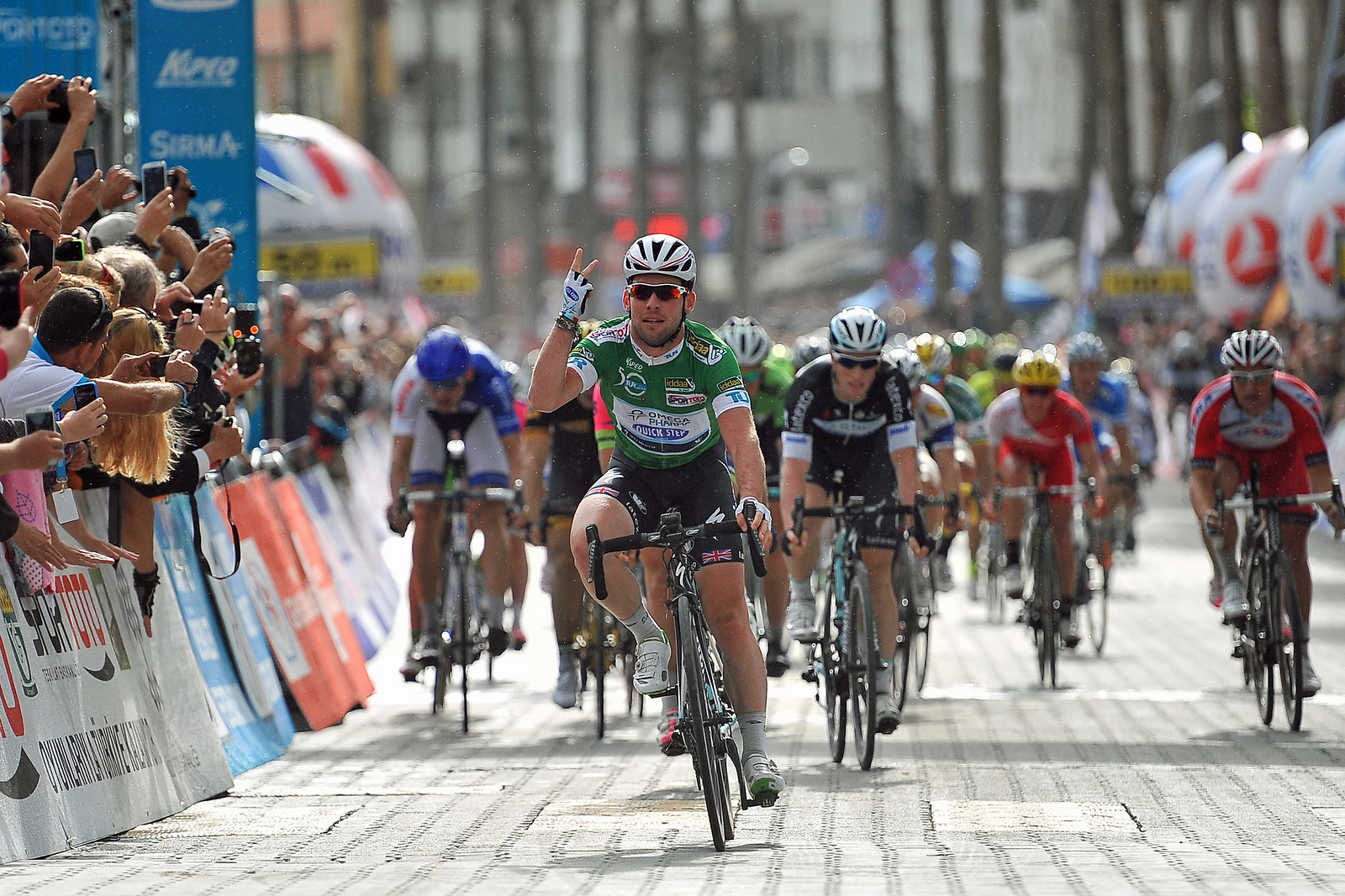 TUR Stage 4. Cavendish wins