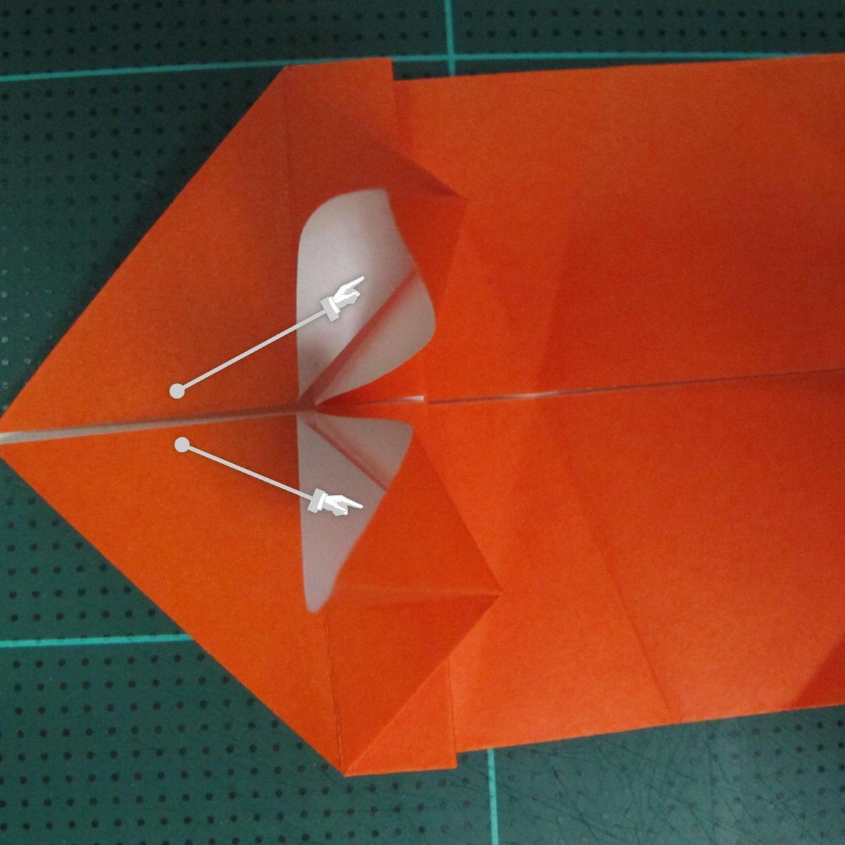 การพับกระดาษเป็นรูปปลาทอง (Origami Goldfish) 010