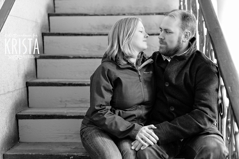 Winter Engagement Session in Providence RI