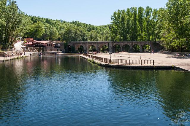 el lago alonso vega en jara z de la vera la piscina