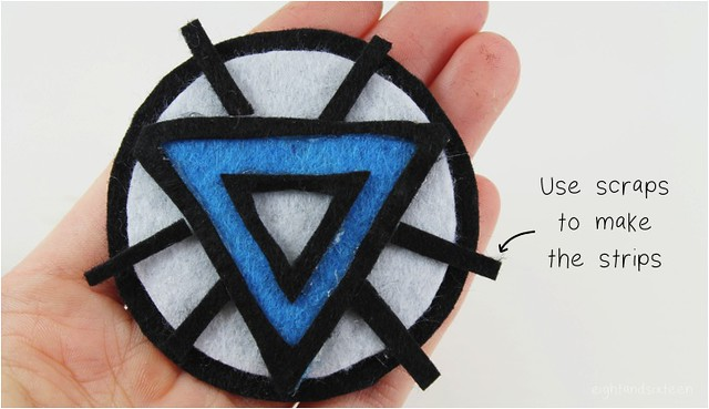 diy arc reactor brooch 8