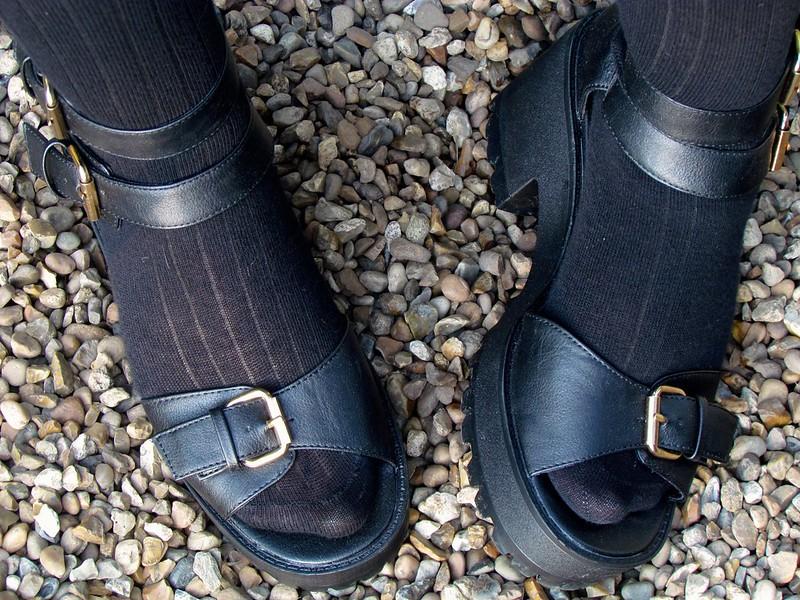 Stylistpick sandals ASOS socks