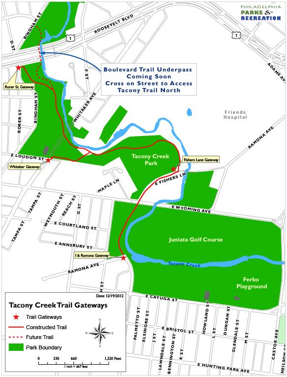 Tacony Trail gateways (3)