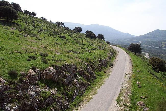 Un tramo de la vía. © Paco Bellido, 2006