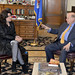 Secretary General Receives Regional Director of Interpeace for Latin America