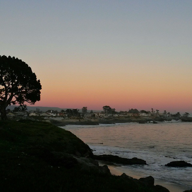 sunset, Santa Cruz, California