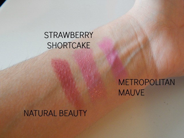 Pink Lipsticks and Swatches for Valentine's Day