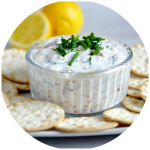 Lightened Smoked Salmon Pate