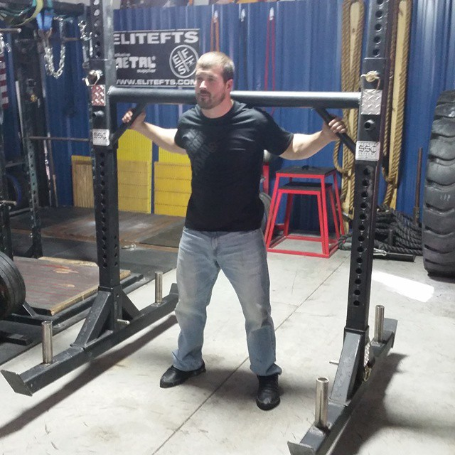 Nebobarbell has a new toy. Yoke time....