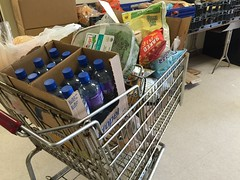 Grocery cart for someone in need