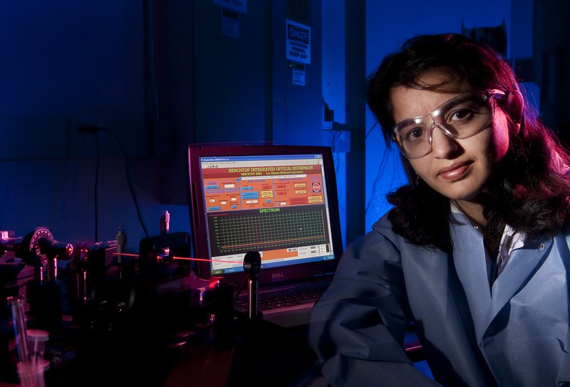 Los Alamos biomedical scientist Harshini Mukundan.