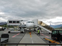 airline, aviation, airliner, airplane, airport, vehicle, transport, jet bridge, infrastructure, tarmac, jet aircraft,