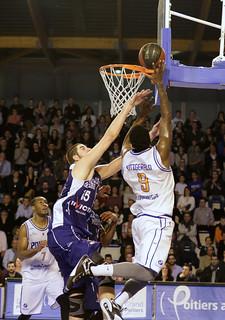 Basket, PB86 J20 : Poitiers - Charleville (2014-2015)