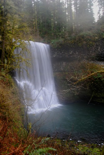 Lower South Falls With foggy lens!