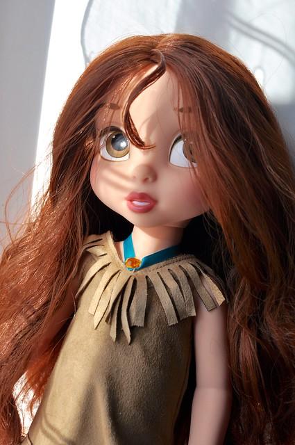 Belle is Pocahontas