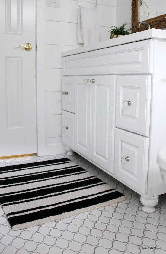 Hi Sugarplum   Big Box Bathroom Remodel