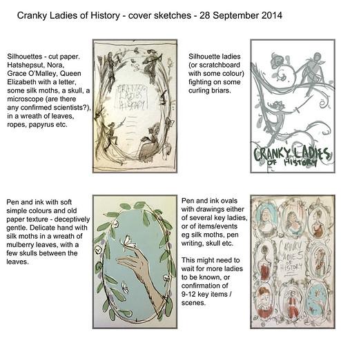 Cranky Ladies - cover thumbnails