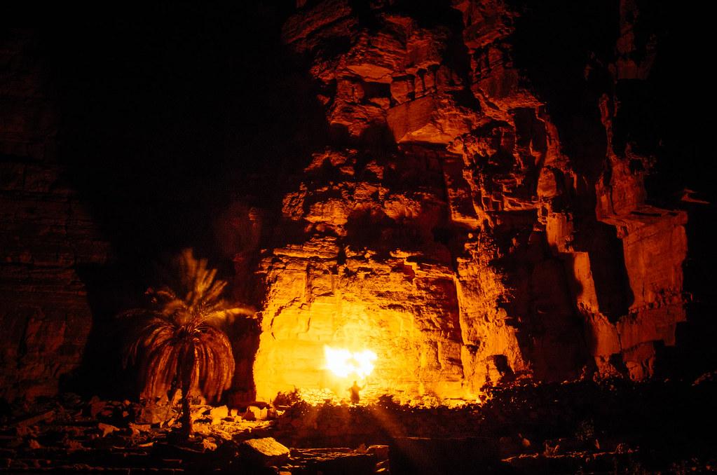 Trek sans guide au Maroc - 5 jours dans l'anti-Atlas - Bivouac à Boulaquas