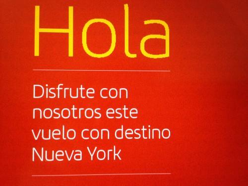 Vuelo a Nueva York, NYC