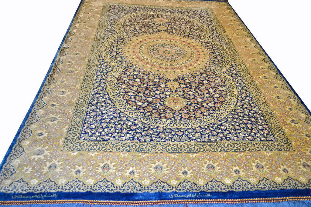 Master Piece 1000 KPSI Qum Pure Silk Persian Area Rug 5x7 by Samadi (12)