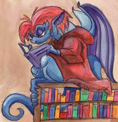 5.18 - A Library Gargoyle