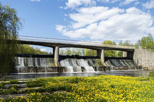 park city travel trees green water spring europe dam central lithuania lietuva kėdainiai užtvanka
