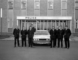 Northern Constabulary Traffic Course October 1975 at Police HQ Inverness