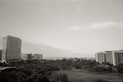 view from lanai, 7:25