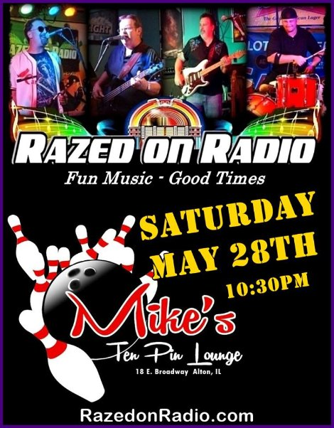 Razed On Radio 5-28-16