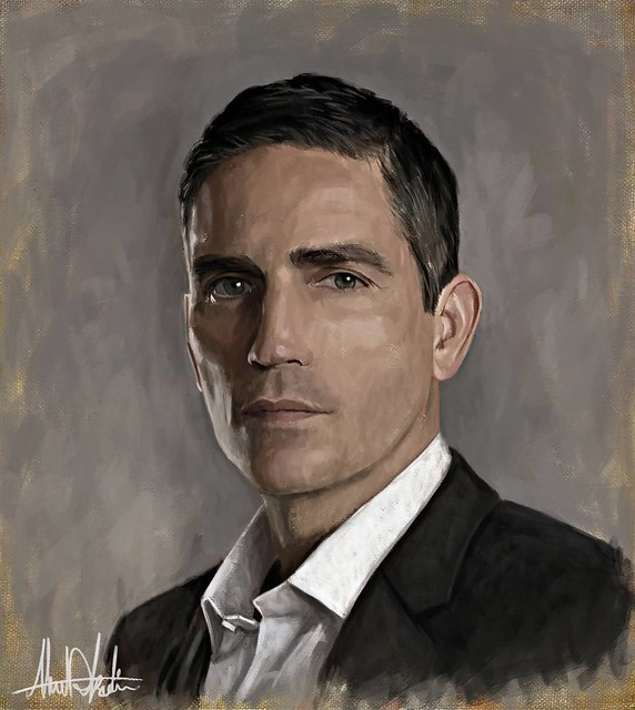 Mr. Reese #johnreese #personofinterest @poi_cbs #Portrait @jamescaviezel #POI #my2WordAddiction #digitalPainting #painting #Sketching #wacom #corelpainter #art #illustration #draw #artist #sketch #sketchbook #Pencil #pen #instaart #gallery #creative #inst