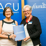 ACUscholarship2016-164 Amanda Huf and Prof. Karen Flowers