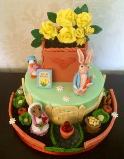 Beatrix Potter Cake by Karen Mary