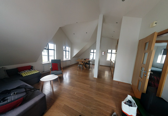 our loft apartment in Reykjavik