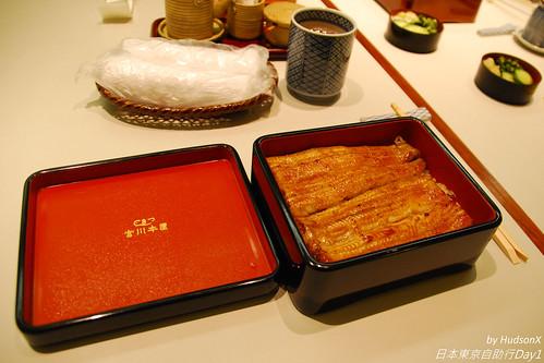 很精緻的鰻魚飯
