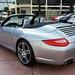 2009 Porsche 911 Carrera S (997) Cabriolet GT Silver on Black in Beverly Hills @porscheconnect 1231