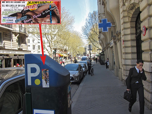RJFC sticker #27 (left in Paris)