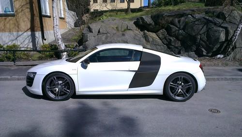 Audi R8 V10 600hk+
