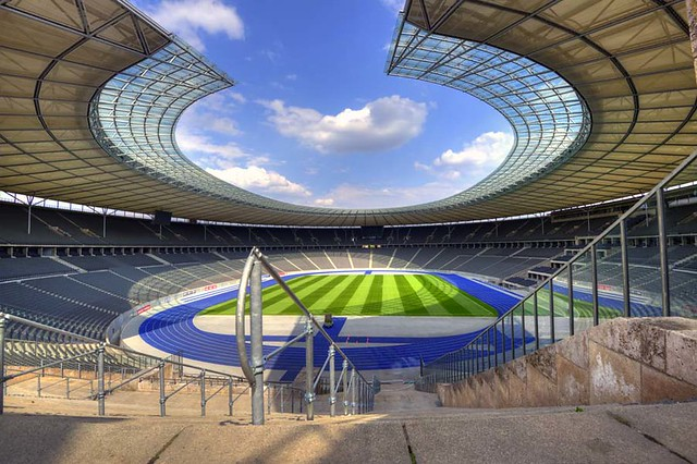 Olympic stadium Berlin Germany[Olympia stadian]