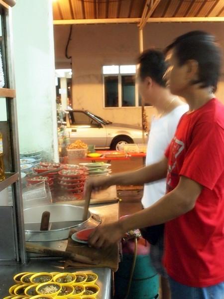 Hock Chin, Melaka - siham, cockles, sotong kangkung -012