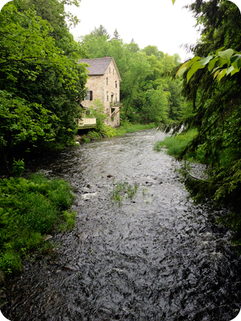 View of the Mill of Kintail