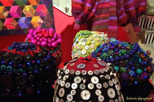 Kaffe Fassett crochet beads & buttons